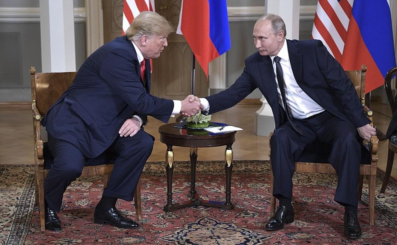 Владимира Путина и Дональда …