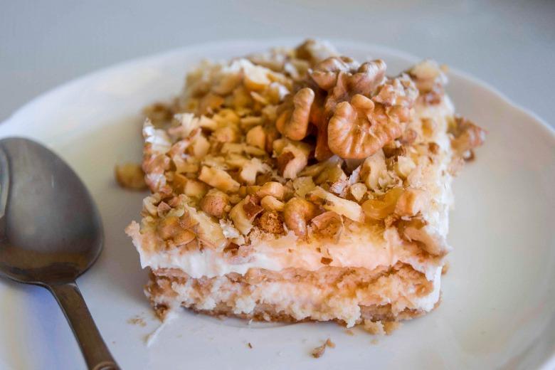 Сметанный тортик из печенья