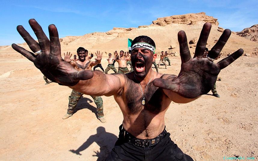 Ряды иракской армии пополнились шиитскими боевиками.