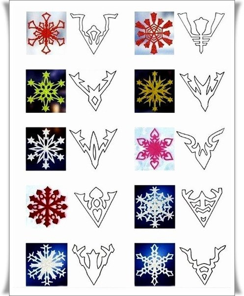 Снежинки красивые своими руками