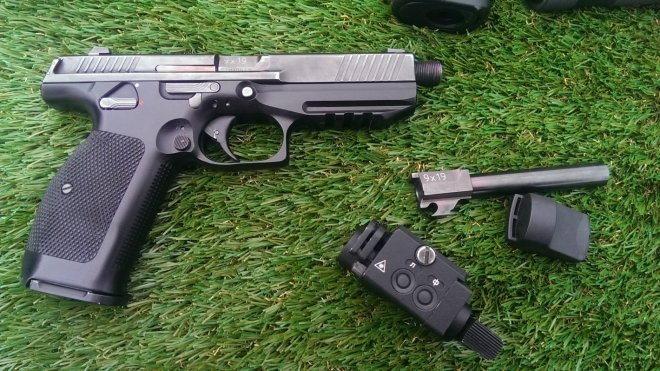 Российский пистолет ПЛ-15 значительно превосходит аналоги