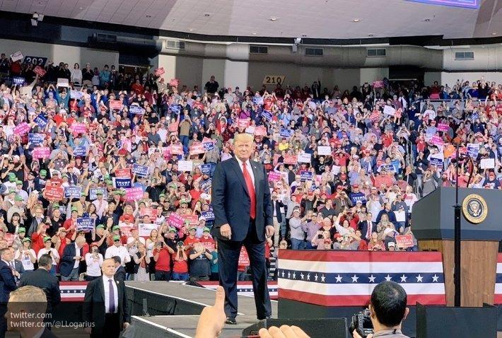 Трампа перед выборами в конгресс стали меньше показывать по ТВ