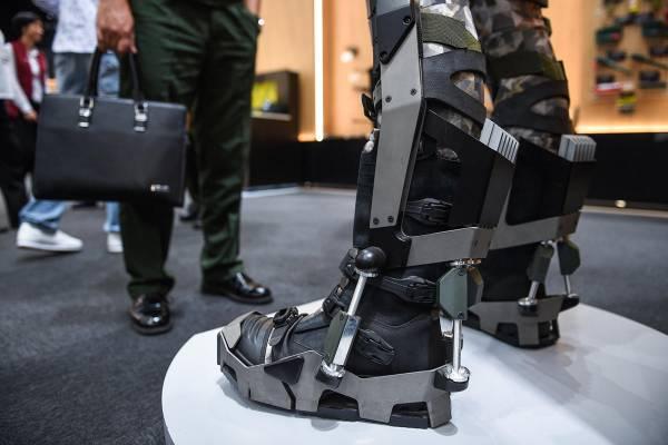 В России создают боевой экзоскелет, сохраняющий автономность в течение суток