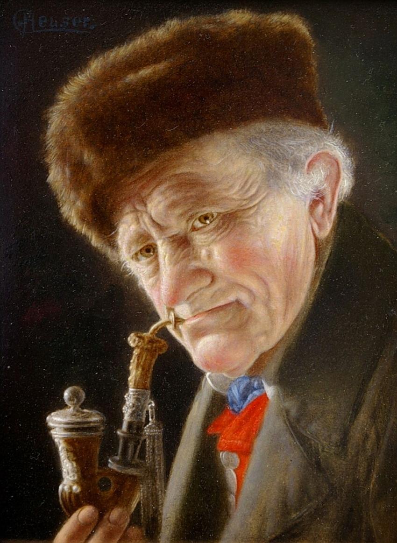Молодость смотрит, а старость видит.... Художник Christian