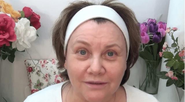 Пример возрастного макияжа. …