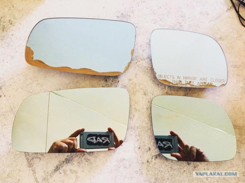Вот почему в 90-х годах немецкие автомобили имели разные боковые зеркала заднего вида