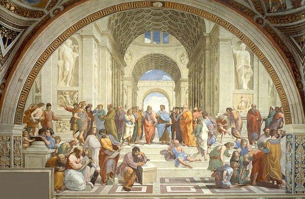 Афинская школа, 1511