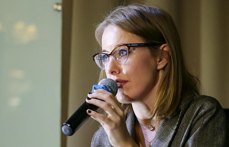 Собчак поддержала санкции США против России