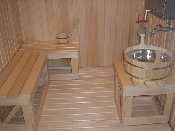 Баки в баню: особенности, разновидности установки