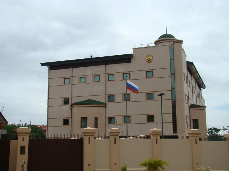 13. В Западной Африке посольство, россия, фото, чиновники