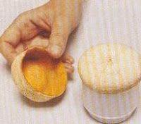 Шкатулки из апельсина