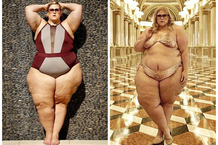 Известному блогеру и модели plus-size запретили проводить съемку в купальнике…
