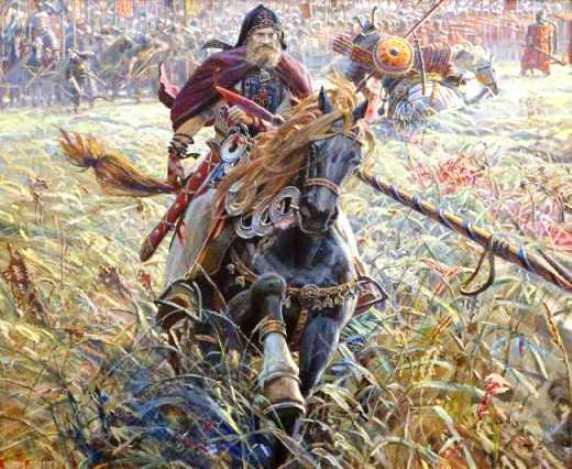 Взгляд в прошлое — историческая живопись Павла Рыженко