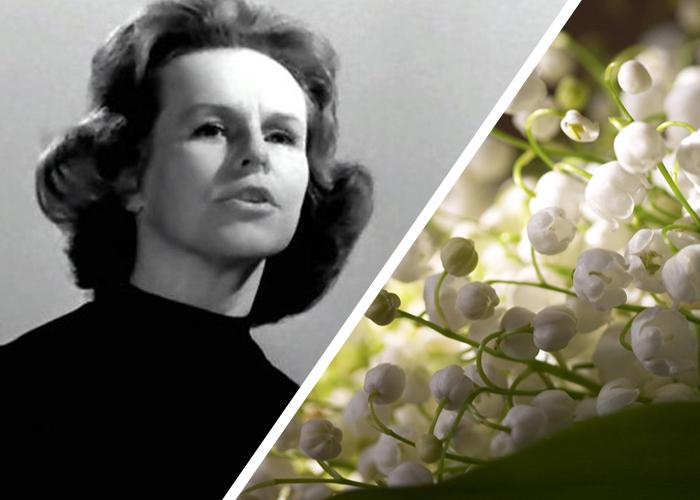 Гелена Великанова - легендарная эстрадная певица СССР и России, исполнительница песни *Ландыши*