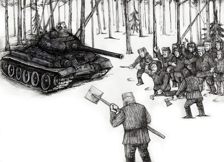 Давили танками: как бандеровцы восстали против СССР
