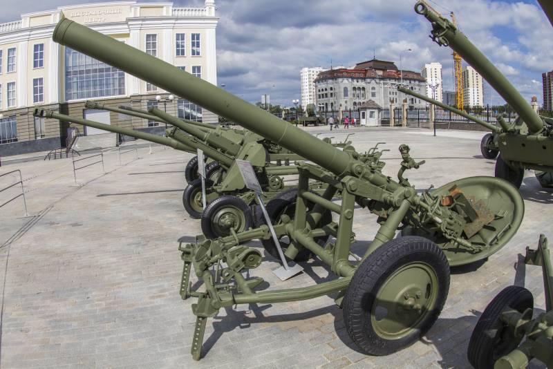 Рассказы об оружии. 160-мм дивизионный миномёт М-160 образца 1949 года