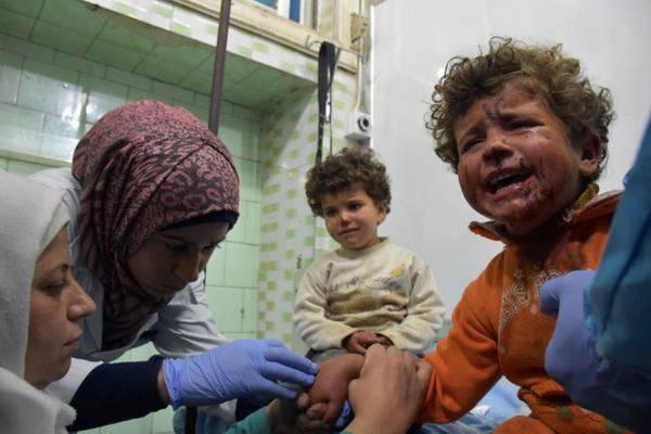 В Российские больницы привезут сирийских детей на реабилитацию
