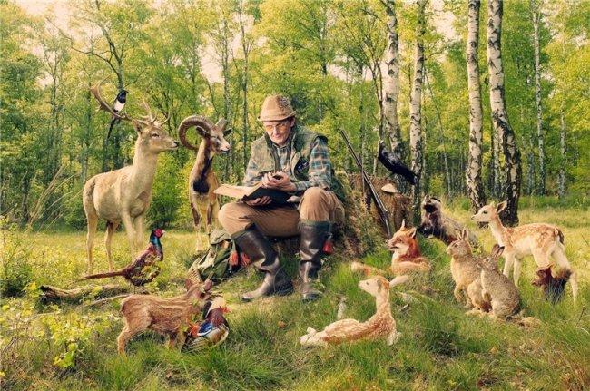 Интересные факты об охоте (10 фото)