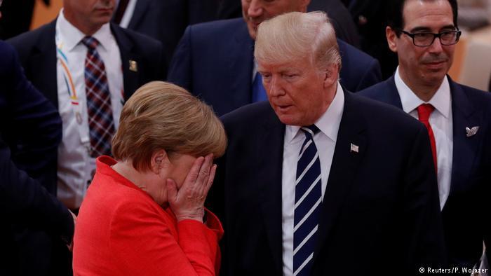 О чем плачет Меркель? Об Украине?