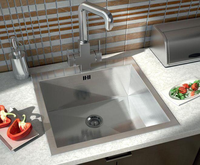 стальная кухонная мойка