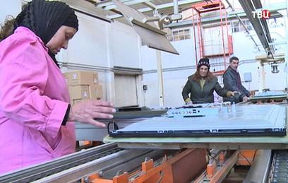 В Дамаске возобновил работу завод по производству телевизоров