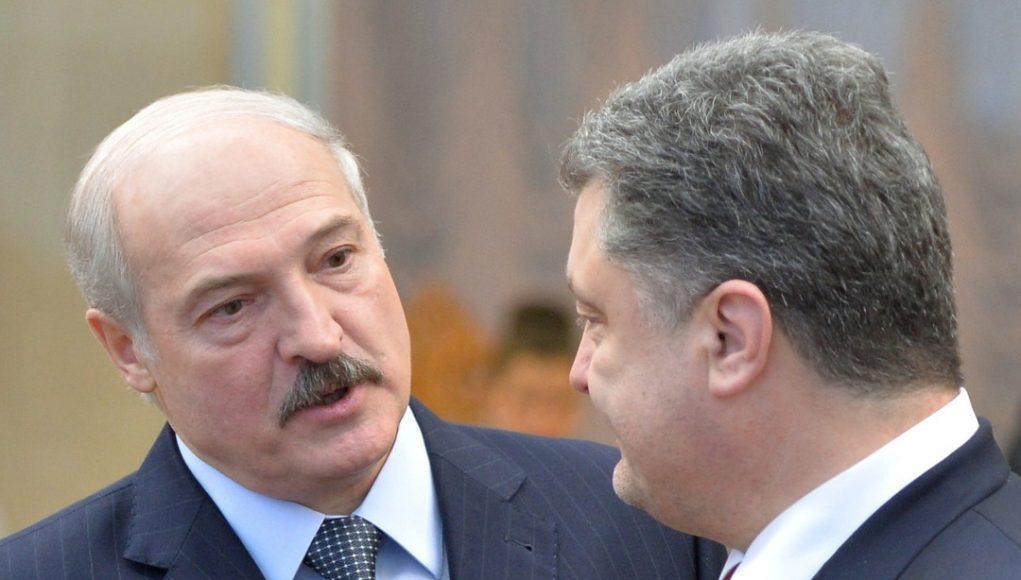 Как Лукашенко прогнул в Гомеле Порошенко