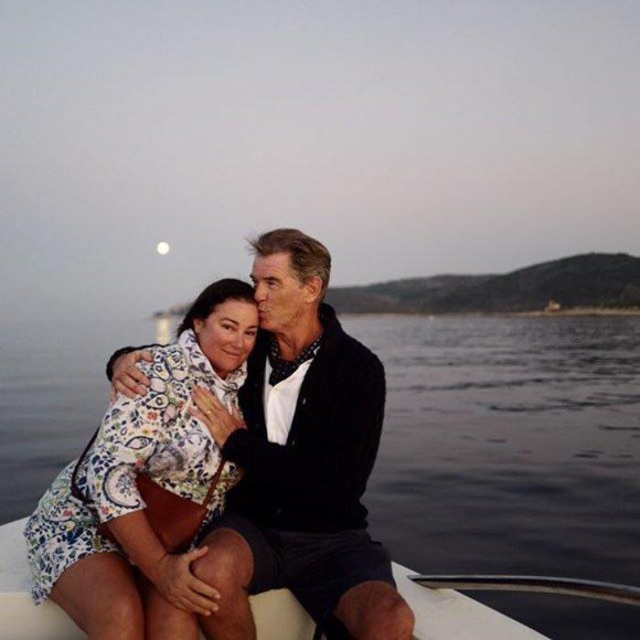 25 лет вместе — фотографии Пирса Броснана с женой в честь этого юбилея