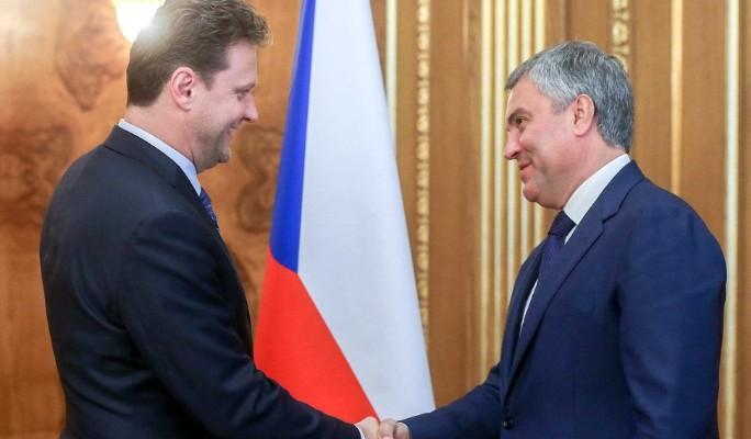 Россия и Чехия расширяют меж…