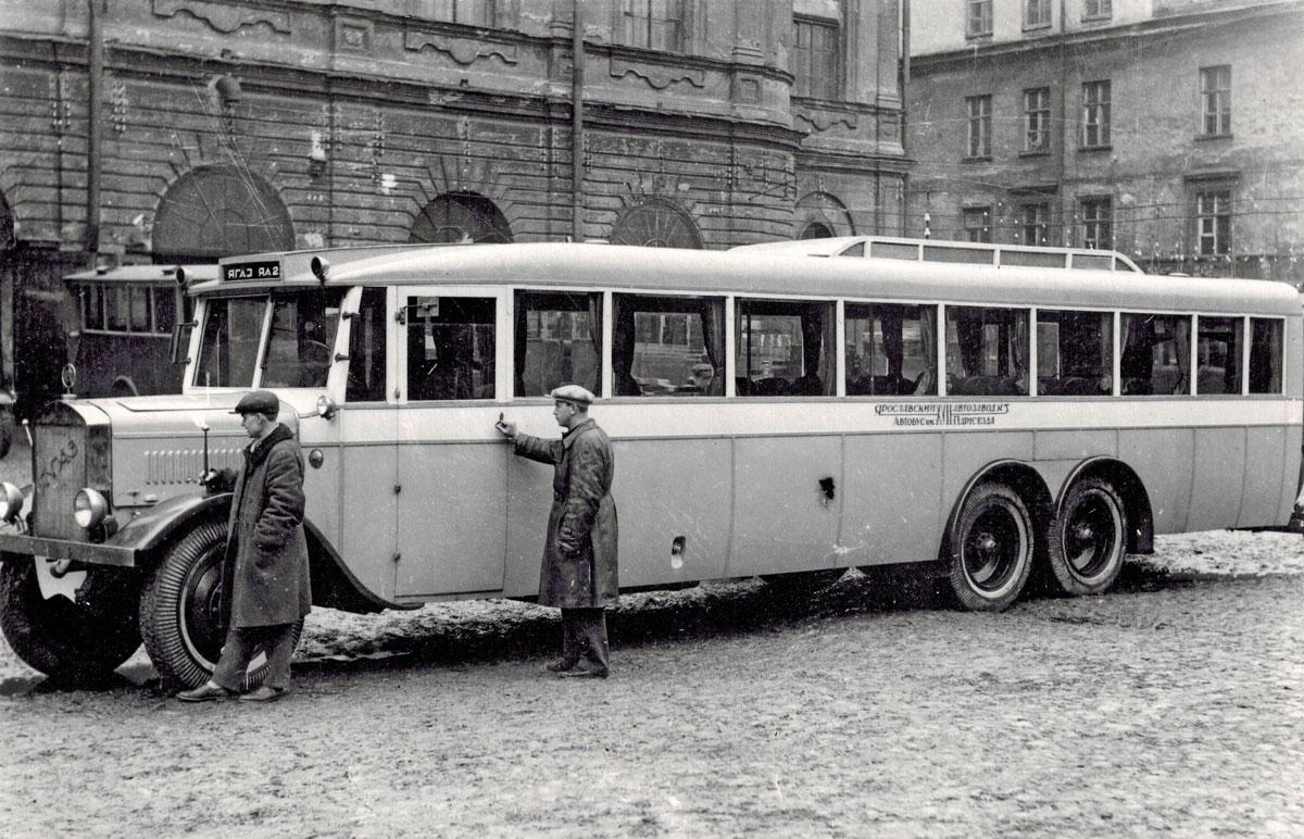 Советский гигант: уникальный автобус «ЯА-2»