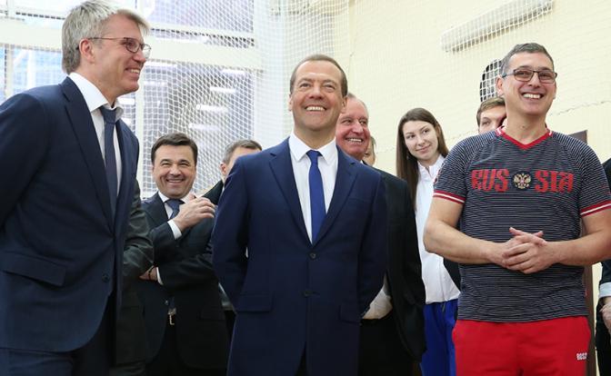 Дмитрий Медведев считает допустимым отказ российских спортсменов от флага своей страны