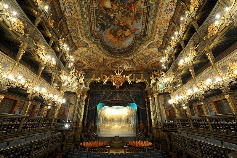 1. Маркграфский оперный театр, Германия интересно, спектакль, театр, театральная россия, театры оперы, фото