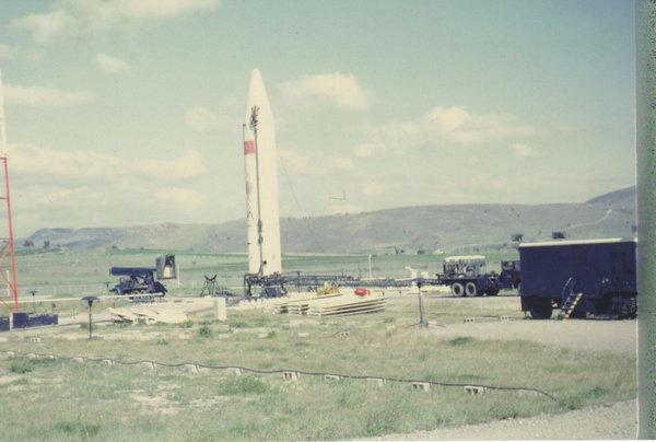 """Американская баллистическая ракета """"Юпитер"""" в Турции"""