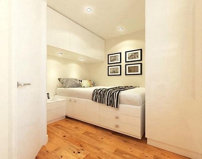Другой пример интерьера спальни.