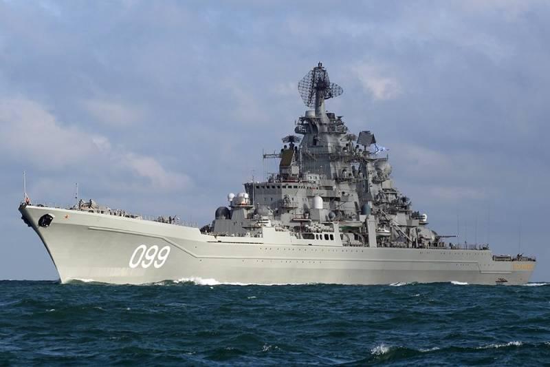 Редкие кадры: крейсер «Петр Великий» отстрелялся ракетным «Водопадом»
