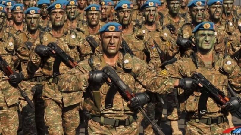 Армения готовится к войне