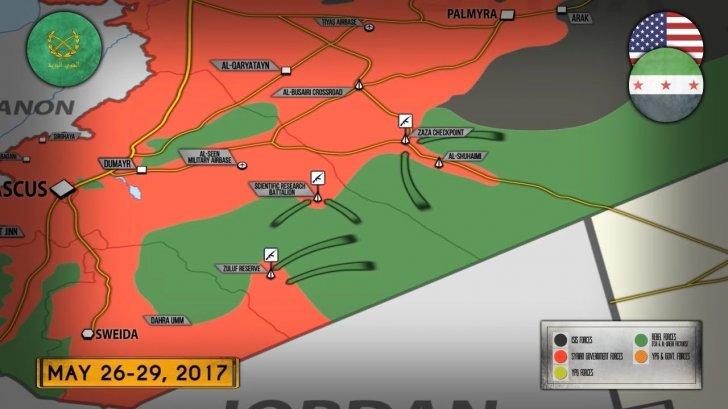 Сирия: спецназ США атакует армию Башара Асада