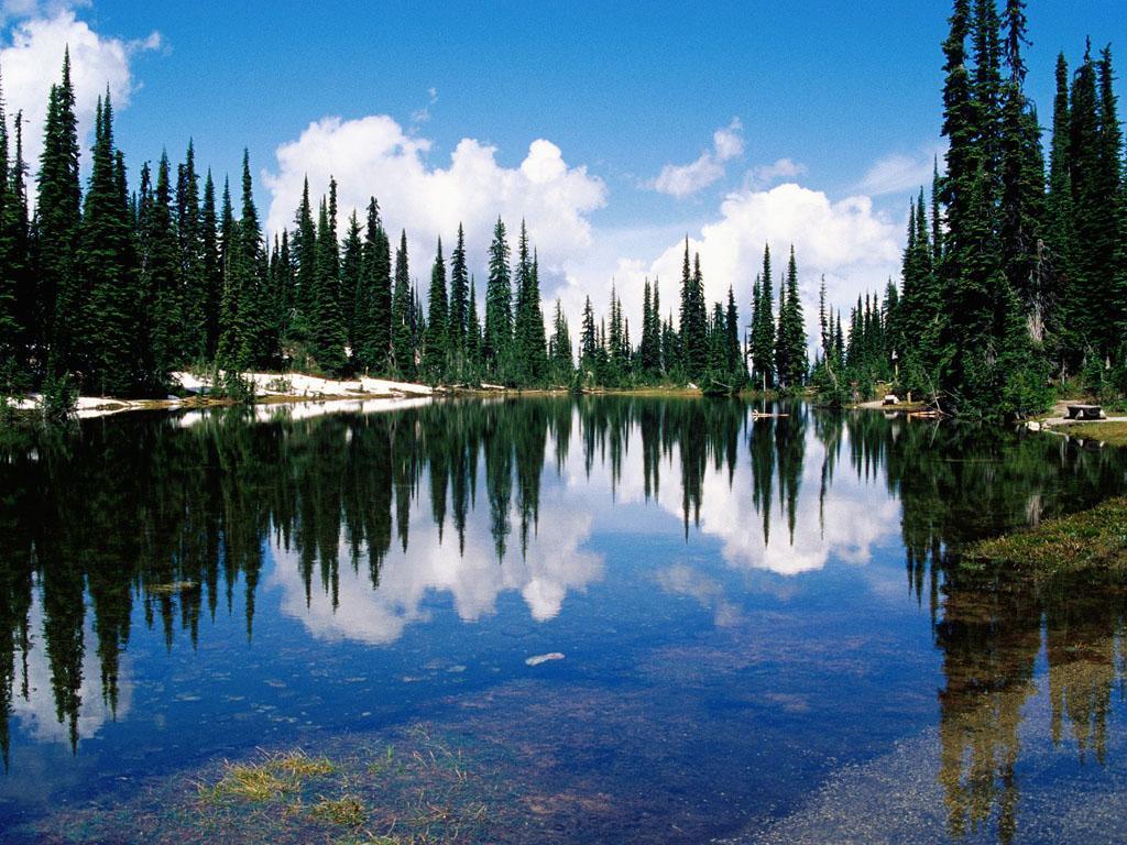Нетронутая природа Канады