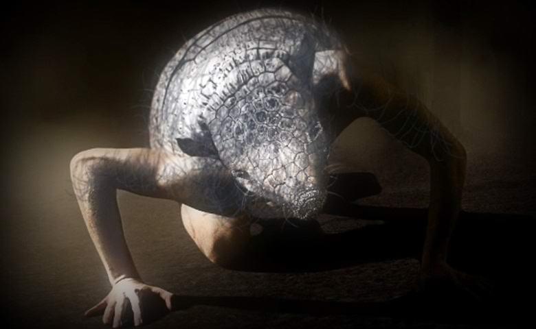 Гуманоид с головой броненосца из штата Алабама