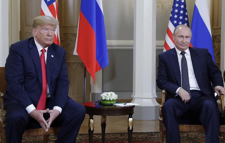 Трамп подмигнул Путину