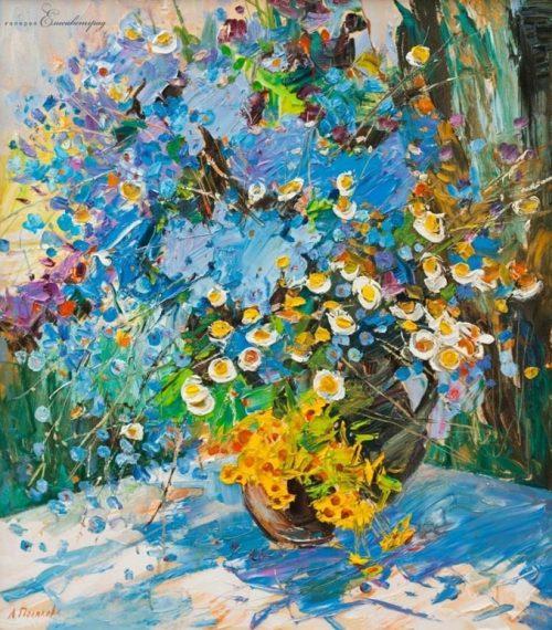 Цветочное очарование — галерея натюрмортов работы разных художников