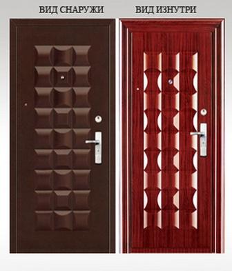 Как оформить железную дверь