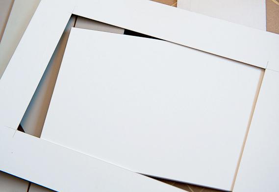 Рамки для рисунков в паспарту