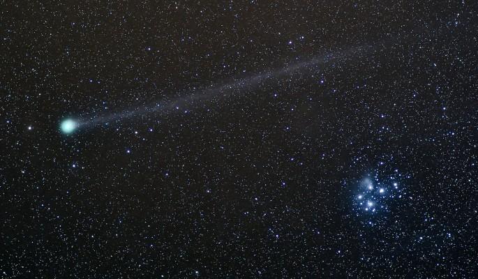К чему снится комета