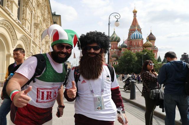 Парк футбола чемпионата мира начнет работать 21 июня на Красной площади