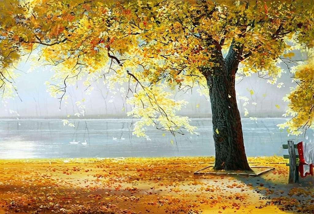 Нежность и красота природы. Чон Ен Джун