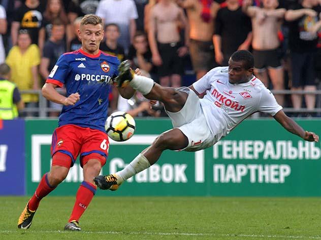Стали известны составы «Спартака» и ЦСКА на дерби