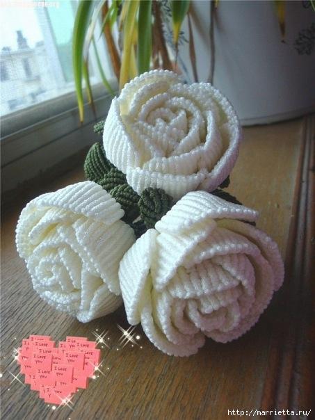Цветы в технике китайского макраме (17) (453x604, 172Kb)