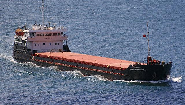 Сухогруз с зерном затонул в Черном море