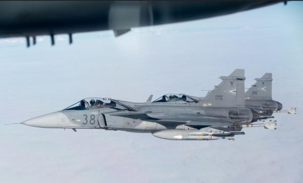 Ввоздушном пространстве Прибалтики начались учения ВВС НАТО