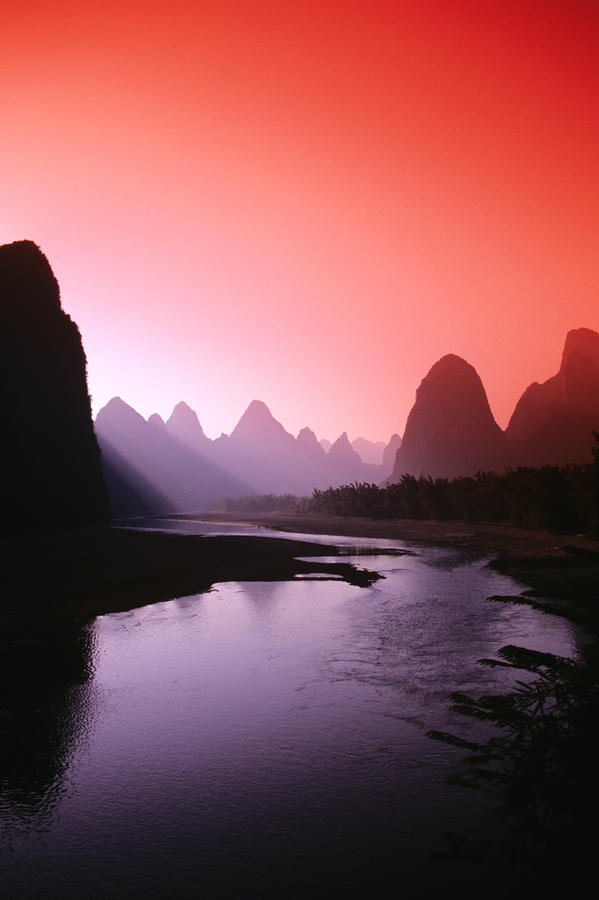 Riverof04 Красивые пейзажи китайской реки поэтов и художников